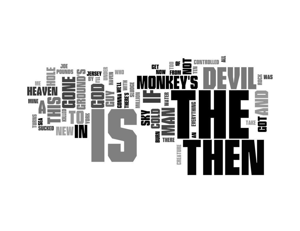 Monkey Gone to Heaven Lyrics