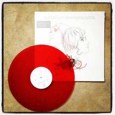 Ladytron Witching Hour red vinyl